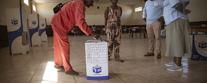 Voting at Durban City Hall on Wednesday 8 May 2019. Picture: Sethembiso Zulu/EWN