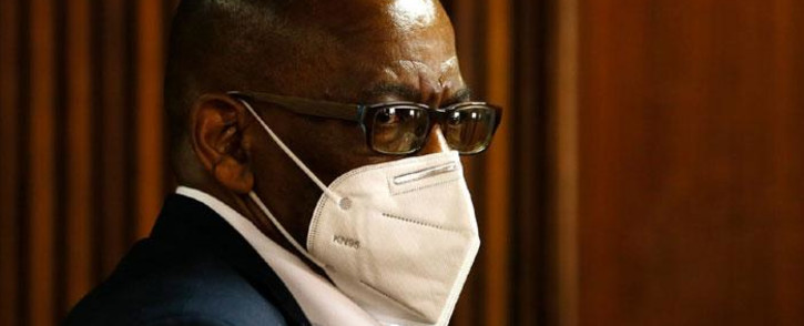 Suspended African National Congress (ANC) secretary-general Ace Magashule appears in the Bloemfontein High Court on 11 August 2021. Picture: Felix Dlangamandla/Pool