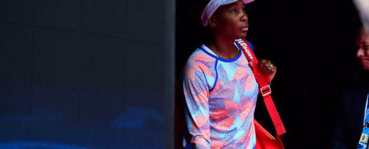 FILE: Venus Williams at the 2018 Australian Open. Picture: Twitter/@AustralianOpen