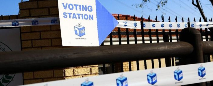 An IEC voting station. Picture: IEC South Africa.