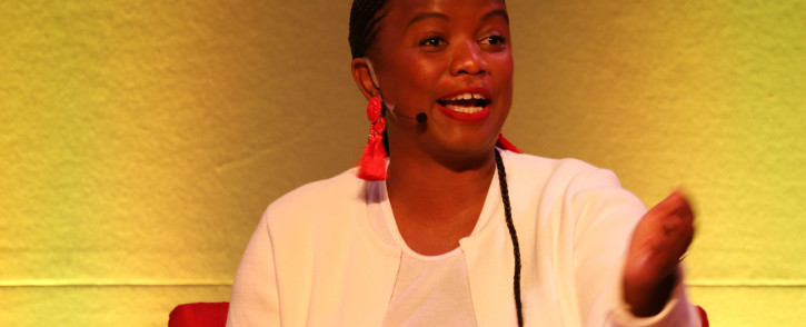 FILE: National Spokesperson for the DA Phumzile van Damme at The Gathering: Media Edition at the Cape Town International Convention Centre on 3 August 2017. Picture: Bertram Malgas/EWN.