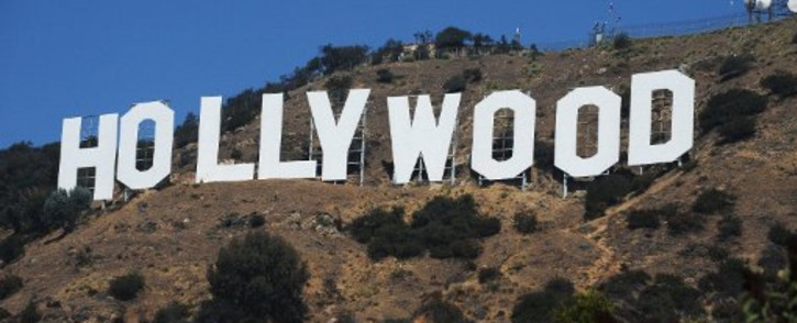 Hollywood sign. Picture: AFP.