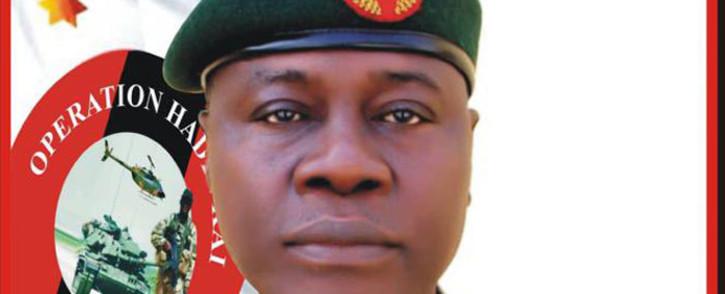 Major General Farouk Yahaya. Picture: @HQNigerianArmy/Twitter