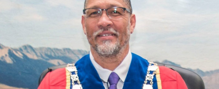 Oudtshoorn Mayor Colan Sylvester. Picture: OudtshoornMayor/Facebook