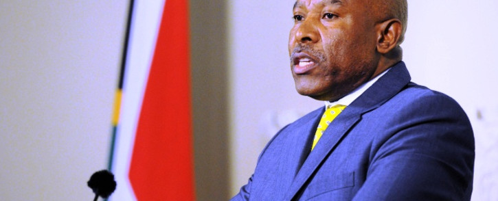 Lesetja Kganyago speaks at a news conference after it was announced by President Jacob Zuma that he will become the new SA Reserve Bank governor in Pretoria on Monday, 6 October 2014. Picture: Sapa.