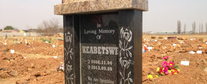 Keabetswe Tshabalala was abducted, raped and murdered by Modise Motapane in September 2013. Picture: Sebabatso Mosamo/EWN.