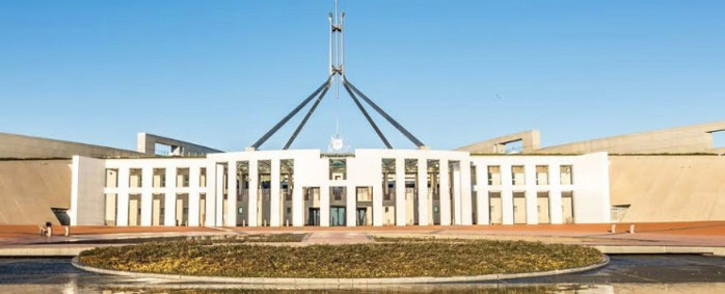 Australian parliament brawl