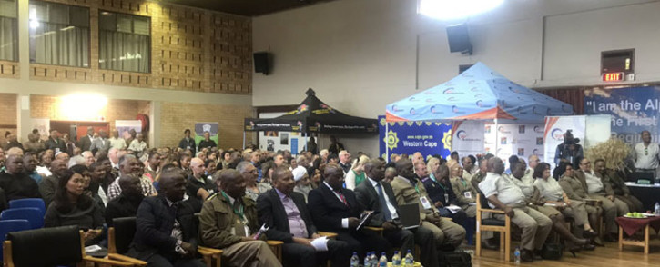 Officials seen at the spiritual care expo held at Pollsmoor Prison on 6 November 2019. Picture: Lizell Persens/EWN.