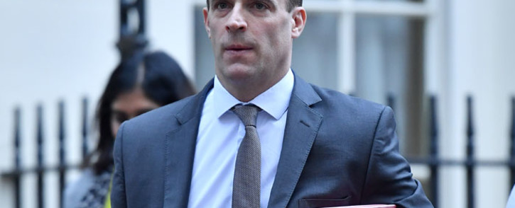 FILE: Britain's Foreign Secretary Dominic Raab leaves Downing Street in London. Picture: AFP