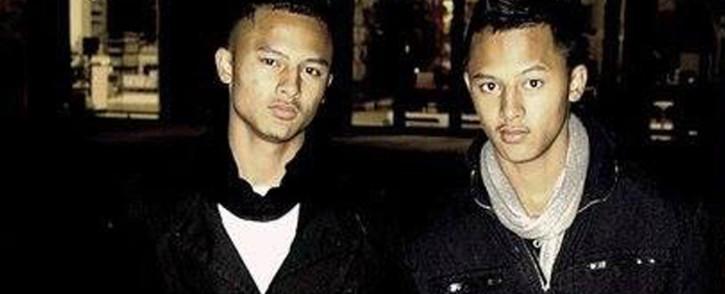 Brandon-Lee & Tony-Lee Thulsie. Picture: Facebook.com.