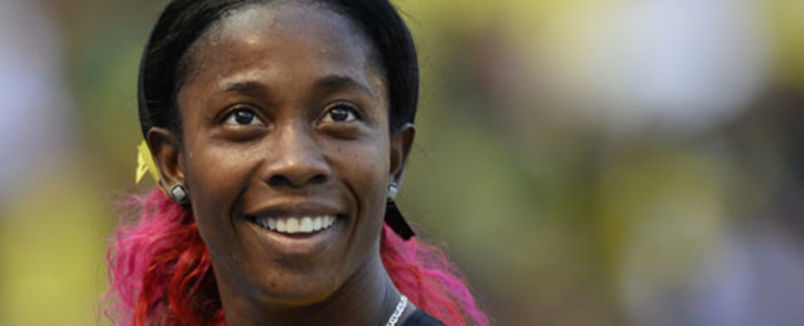 he world's fastest woman, Jamaican athlete Shelly-Ann Fraser-Pryce. Picture: AFP