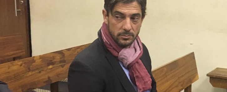 Adam Catzavelos appears in the Randburg Magistrates Court on 28 May 2019. Picture: EWN