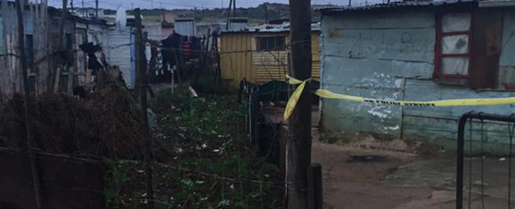 The house where 14-year-old Elna Japhta's body was found under a bed in Bredasdorp.  Picture: Masa Kekana/EWN