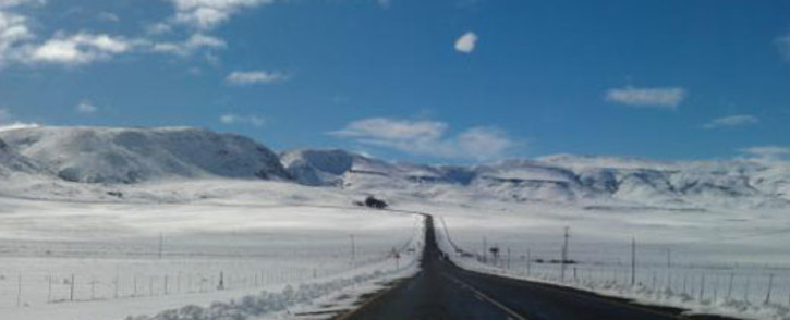 The Penhoek Pass on the N6 route after it was re-opened. Picture: Janine Vorster/Twitter