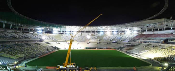 Rio de Janeiro's Maracana football stadium undergoing renovations for the 2014 World Cup. Picture: AFP