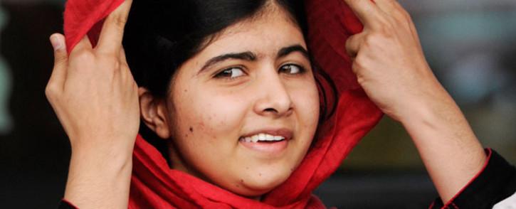 Malala Yousafzai in Birmingham, Britain, September 2013. Picture: EPA.
