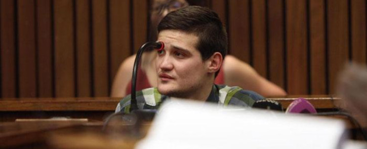 Convicted rapist Nicholas Ninow testifies in mitigation of sentence at the High Court in Pretoria on 16 October 2019. Picture: Xanderleigh Dookey/EWN