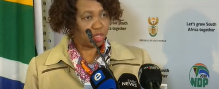FILE: Basic Education Minister Angie Motshekga. Picture: Screengrab
