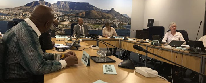 The City of Cape Town Transport and Development Authority Portfolio Committee discussing the Salt River Market site. Picture: Monique Mortlock/EWN
