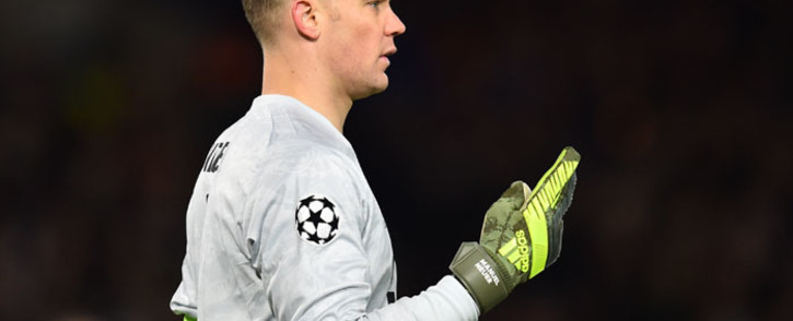 FILE: Bayern Munich's German goalkeeper Manuel Neuer gestures during the UEFA Champion's League round of 16 first leg football match between Chelsea and Bayern Munich at Stamford Bridge in London on 25 February 2020. Picture: AFP