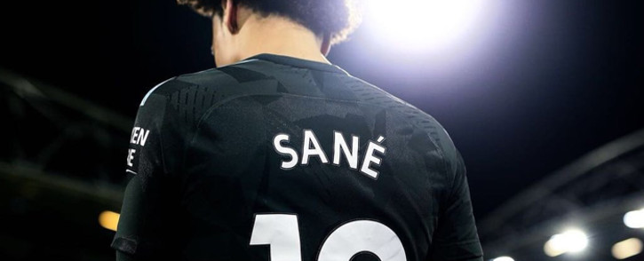 Manchester City's Germany playmaker Leroy Sane. Picture: @LeroySane19/Twitter.