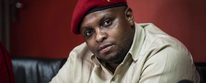 FILE: EFF deputy president Floyd Shivambu. Picture: Abigail Javier/EWN