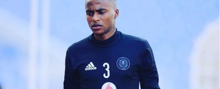 Orlando Pirates footballer Thembinkosi Lorch. Picture: Instagram thembinkosi_lorch_3.