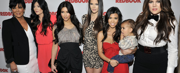 FILE: The Kardashians pose for a picture as Redbook celebrates first ever family issue with the Kardashians held at The Sunset Tower Hotel in April 2011 in West Hollywood, California. Picture: Toby Canham/Getty Images/AFP