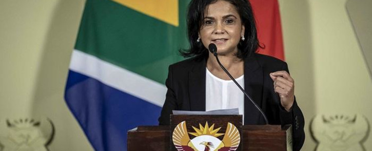 President Cyril Ramaphosa named Shamila Batohi as the new NPA boss on 4 December 2018. Picture: Thomas Holder/EWN