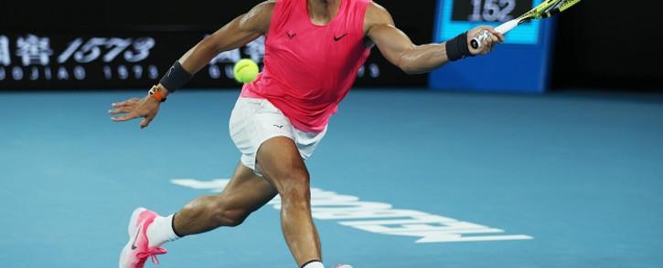 World number one tennis player Rafa Nadal. Picture: @AustralianOpen/Twitter