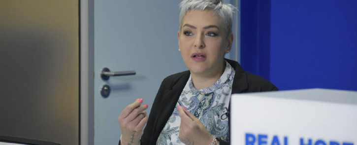 DA chief whip Natasha Mazzone gave the party's 2020 parliamentary review on 10 December 2020. Picture: @Our_DA/Twitter