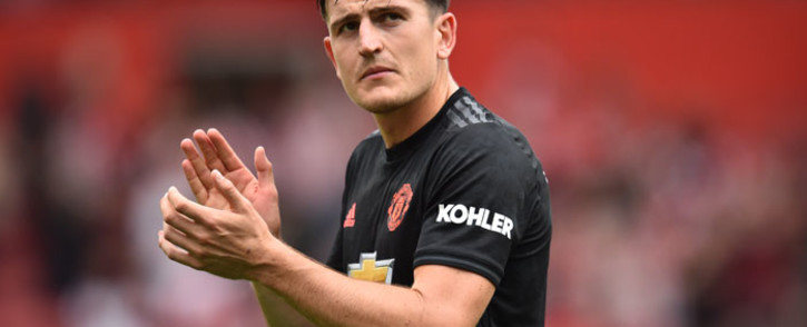 Manchester United defender Harry Maguire applauds at the end of the English Premier League football match against Southampton at St Mary's Stadium in Southampton, southern England on 31 August 2019. Picture: AFP