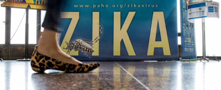 The World Health Organisation campaign on finding solutions over the Zika outbreak. Picture: WHO.