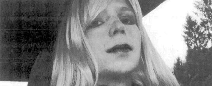 This undated photo courtesy of the US Army shows a photo of Bradley Manning in wig and make-up. Bradley Manning, the US soldier sentenced to 35 years for leaking secret documents. He now considers himself to be a woman called Chelsea. Picture: AFP.