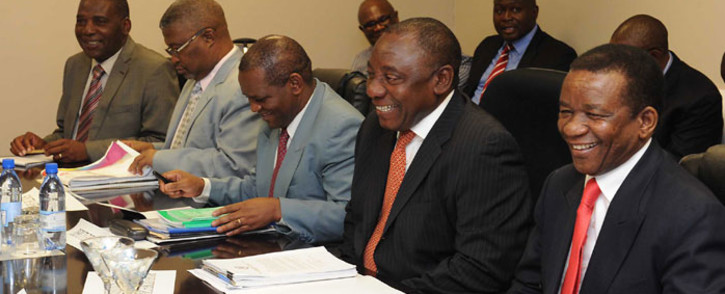 FILE: Deputy President Cyril Ramaphosa during facilitation talks in the Kingdom of Lesotho. Picture: GCIS