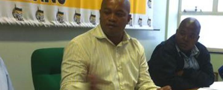 ANC Provincial Secretary Songezo Mjongile. Picture: Malungelo Booi/EWN