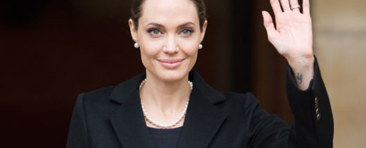 Angelina Jolie is a special envoy to the United Nations High Commissioner for Refugees. Picture: AFP.