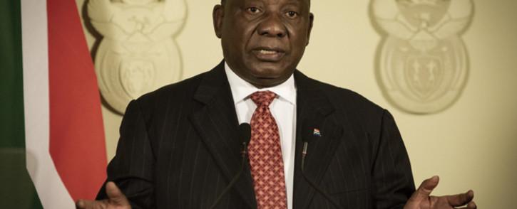 FILE: President Cyril Ramaphosa. Picture: Sethembiso Zulu/EWN
