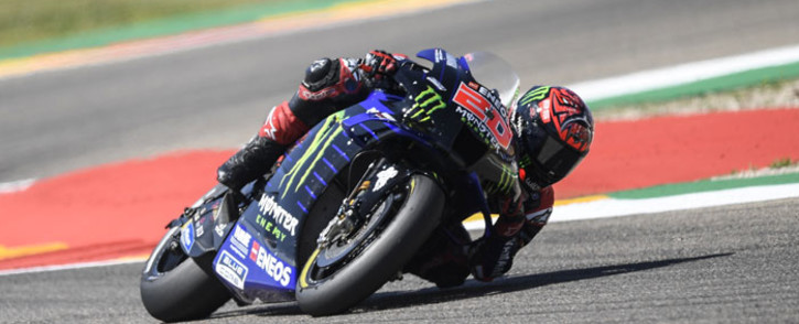 Yamaha rider Fabio Quartararo. Picture: @YamahaMotoGP/Twitter