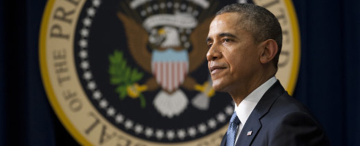 FILE: President Barack Obama authorised air strikes to blunt the onslaught of militants in northern Iraq. Picture: AFP.