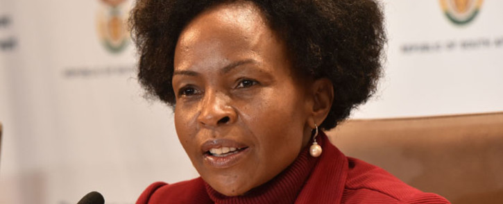 FILE: Minister in the Presidency Responsible for Women Maite Nkoana-Mashabane. Picture: GCIS