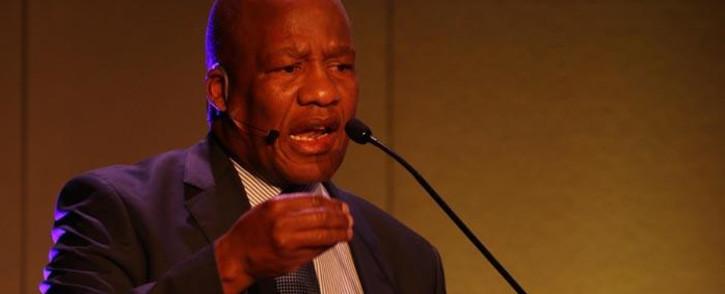 Minister in the Presidency Jackson Mthembu. Picture: EWN.