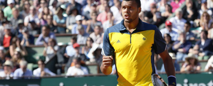 Jo-Wilfried Tsonga of France. Picture: AFP