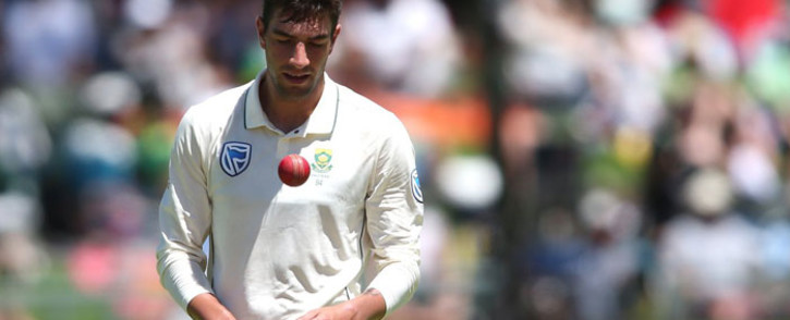 FILE: Proteas fast bowler Duanne Olivier.Picture: @OfficialCSA/Twitter.