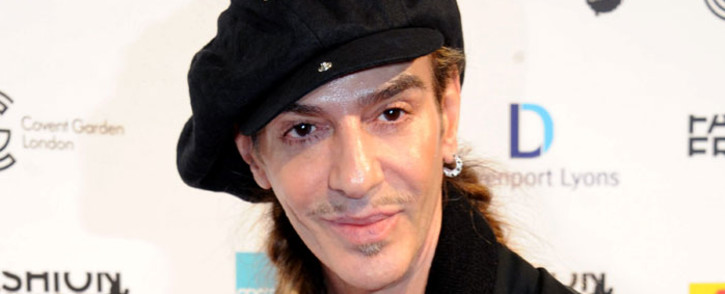 FILE: John Galliano. Picture: Facebook.
