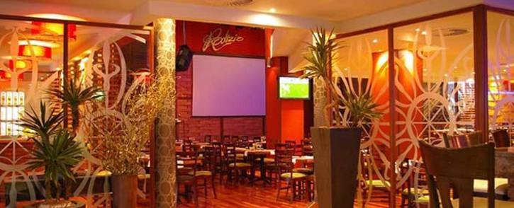 A general view of Rodizio Brazilian Restaurant in Fourways. Picture: rodizio.co.za.