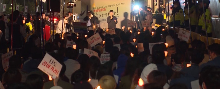 Human rights activists are calling on the South Korean military to end its crackdown on gay soldiers. Picture: screengrab/CNN