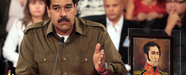FILE: Venezuelan President Nicolas Maduro. Picture: AFP.