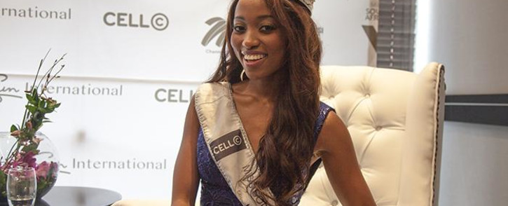 Miss SA 2016 Ntandoyenkosi Kunene. Picture: Picture: Kgothatso Mogale/EWN