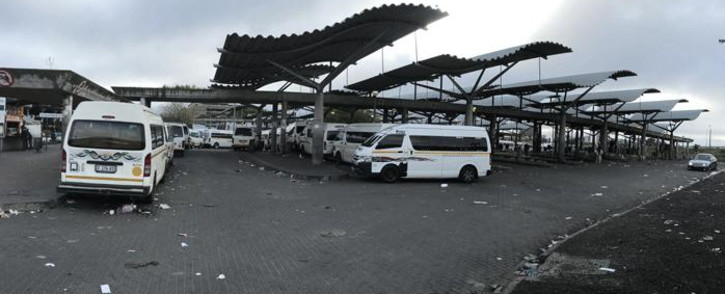 FILE: Bellville taxi rank in Cape Town. Picture: EWN